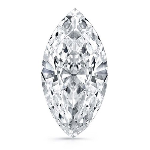 0.63 Carat Marquise Cut Diamond, VS2 Clarity