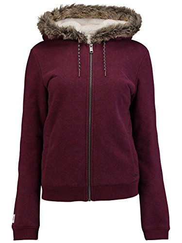 O' Neill Felpa Lw San Fran Superfleece, Donna, LW SAN FRAN SUPERFLEECE, Fig Red, XL