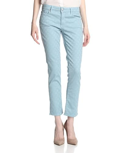 Agave Denim Women's Paloma Crop Lattice Jean