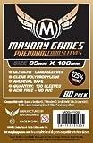 Mayday Games - 80 Premium 7 Wonders Sleeves 65x100mm