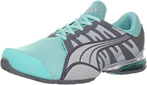 PUMA Women's Voltaic 3 NM Running Shoe,Blue/Steel/Quarry/Silver,7 B US