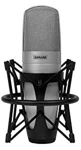 Shure KSM32 Embossed Single-Diaphragm Microphone, Champagne