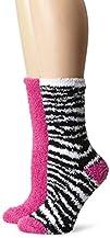 K. Bell Socks Women's Cozy 2 Pack Cre…