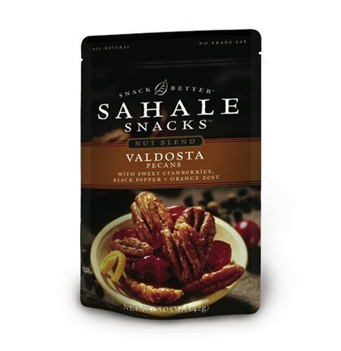 Sahale Snacks, Valdosta Blend, 5-Ounce Pouches (Pack of 6)