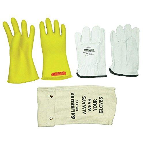 Electrical Glove Kit, Size 8, Yellow, Pr Gk011Y/8