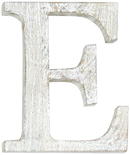 Mud Pie Wood Block Initial-E