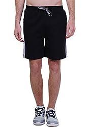 Seaboard Black Shorts For Men