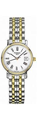 Tissot Women's T52228113 T-Classic Desire Two-Tone Watch