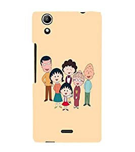 Ebby Premium Printed Mobile Back Case Cover With Full protection For Canvas Selfie Lens Q345 (Designer Case)