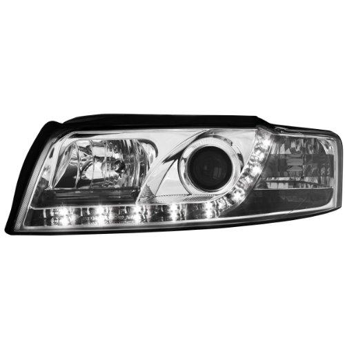 SWA04GX DAYLINE Scheinwerfer AUDI A4 8E 01-04 TFL-Optik chrome