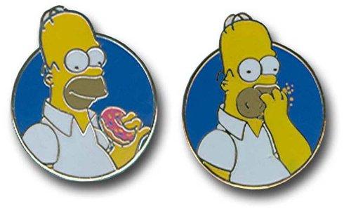 the-simpsons-cue0848-gemelos-de-hombre-de-oro-y-rodio
