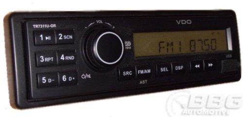 VDO-TR7322U-OR-LKW-Truck-BUS-24-Volt-24V-USB-MP3-Radio