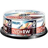 25 pack philips 4 speed dvd+rw discsby Philips