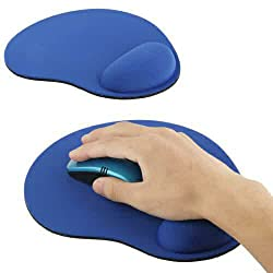 hpk branded box packed Wrist Rest Mouse Mat - Mouse Pad with Comfort Wrist Rest and non slip back support