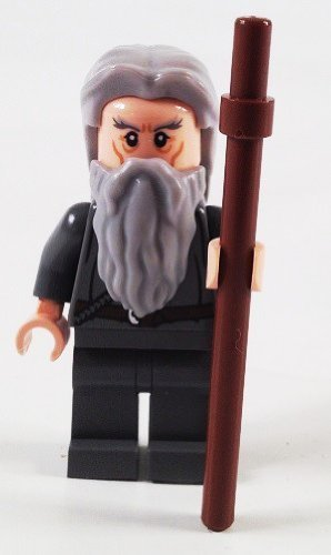 Lego Lord of the Rings Minifigure: Gandalf the Grey with Staff by LEGO (English Manual)