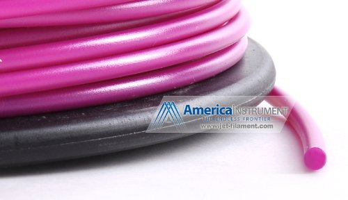 Jet - PLA (3mm, Purple color, 1.0kg =2.204lbs) Filament on Spool for 3D Printer MakerBot RepRap MakerGear Ultimaker & Up!