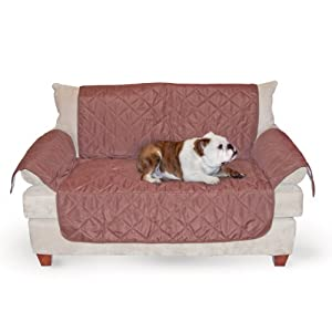 K&H Manufacturing Economy Furniture Cover Loveseat, Chocolate