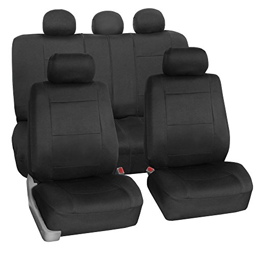FH GROUP FH-FB083115 Neoprene Waterproof Car Seat Covers Airbag Ready & Rear Split (Mazda 3 Leather Seat Covers compare prices)