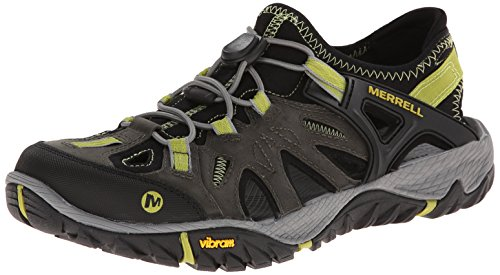 Merrell Men's All Out Blaze Sieve Water Shoe, Castle Rock/Green Oasis, 10 M US (Oasis Shoes Men compare prices)