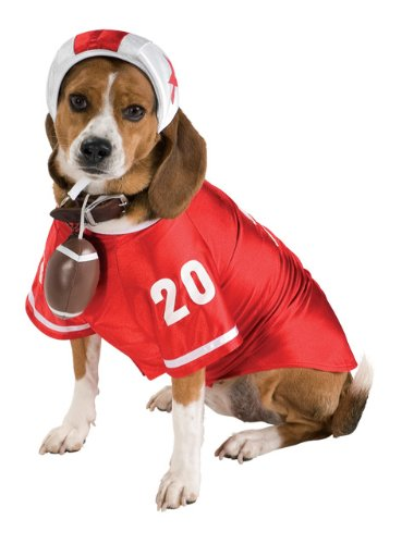 Football Star Pet Halloween Costume, X-Large