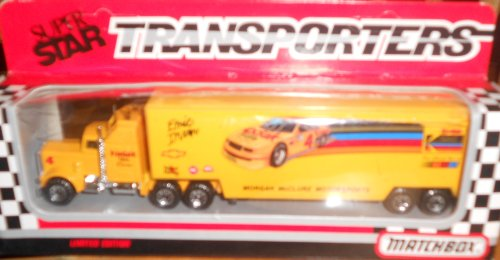 Matchbox Superstar Transporters Nascar Kodak Gold