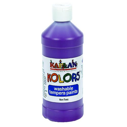 Kaplan Kolors Washable Paint - Purple (16 oz.) - Buy Kaplan Kolors Washable Paint - Purple (16 oz.) - Purchase Kaplan Kolors Washable Paint - Purple (16 oz.) (Kaplan Early Learning Company, Toys & Games,Categories,Arts & Crafts,Paints)