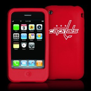 Tribeca Washington Capitals Iphone 3g / 3gs Silicone Case