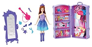 Barbie The Princess and The Popstar Mini-Doll Scene Keira Doll