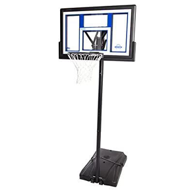 Lifetime 90168 Portable Basketball Hoop with 48in Shatter Proof Fusion Backboard