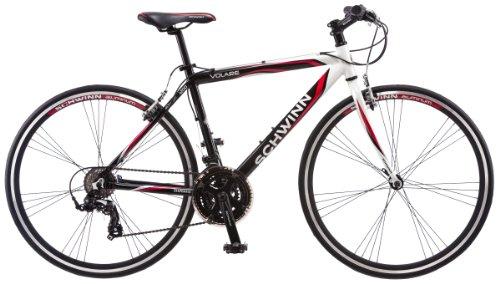 Schwinn Men's Volare 1200 700c Flat Bar Road Bicycle, White