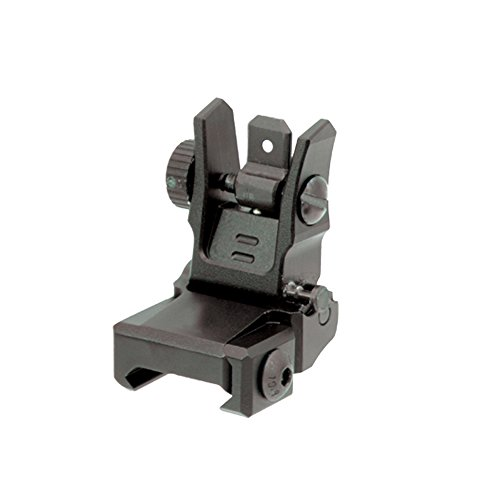 UTG Low Profile Flip-up Rear Sight with Dual Aiming Aperture (Backup Iron Sights compare prices)