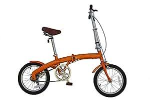 21Technology (OL-16)折りたたみ自転車 16インチ (オレンジ)