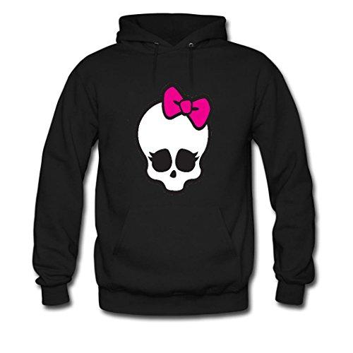 Fanging Design Monster High Big Girls Hoodie, Custom Classic Sweatshirt XX-Large Black (Monster High Customs)