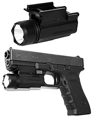 Tactical Flashlight For Ruger Glock 17 19 22 Springfield XD. by TRINITY SUPPLY INC