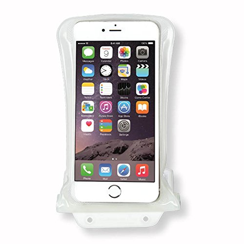【DiCAPac】スマホ 防水ケース 100% 完全防水 JIS IPX 8 規格 獲得 DiCAPacα 防水パック iPhone アイフォン GALAXY ギャラクシー XPERIA エクスペリア AQUOS アクオス 他 おふろ スマートフォン【daiyo】 (WP-C2  4.7~5.5インチ (iPhone6 Plus  GALAXY Note など 全機種対応), ホワイト) [並行輸入品]