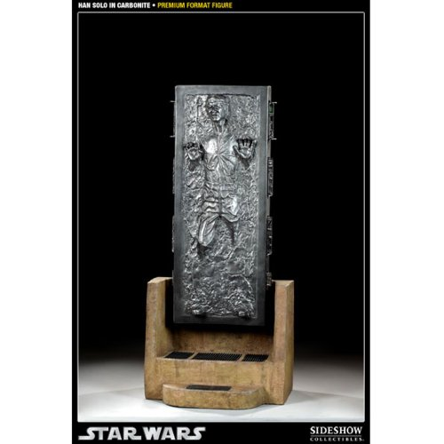 Sideshow Collectibles - Star Wars statuette 1/4 Premium Format Han Solo in Carbonite 65