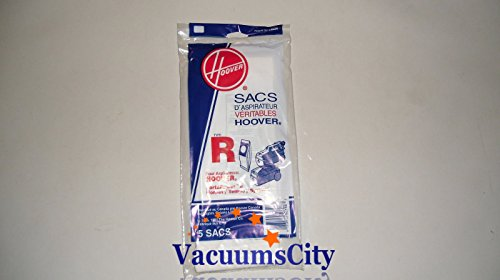 Hoover Old Style Tempo Canisters Type R Paper Bags 5 Pk Genuine Part # 4010063R (Hoover Bags Type R compare prices)