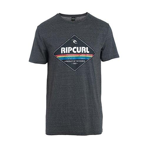 rip-curl-diamond-camiseta-para-hombre-dark-gris-dark-marle-tallas-talla-del-fabricante-s