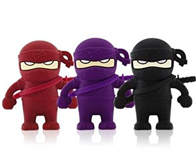 High Quality 4 GB Ninja USB Flash drive (Black) by T &  J