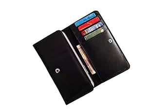 ATV PU Leather Black Designer Flip Pouch Case Cover For SAMSUNG Z3