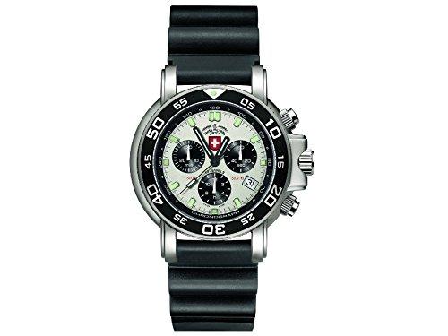 CX Swiss Military Watch Navy Diver 500 Scuba 24651