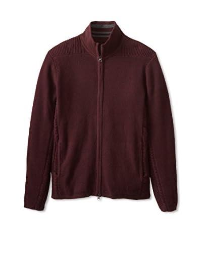 Zachary Prell Men's Silverton Two-Way Zipper Sweater