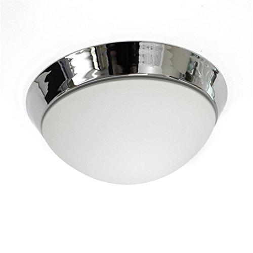 led decken leuchte lampe dodo weiss chrom esszimmer k che bad feuchtraum 28. Black Bedroom Furniture Sets. Home Design Ideas