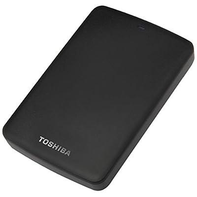 Toshiba Canvio Basics HDTB310AK3AA USB 3.0+USB2.0 1TB External Hard Disk
