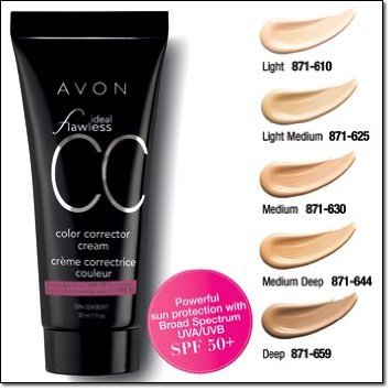 Avon Ideal Flawless Color Correcting Cream
