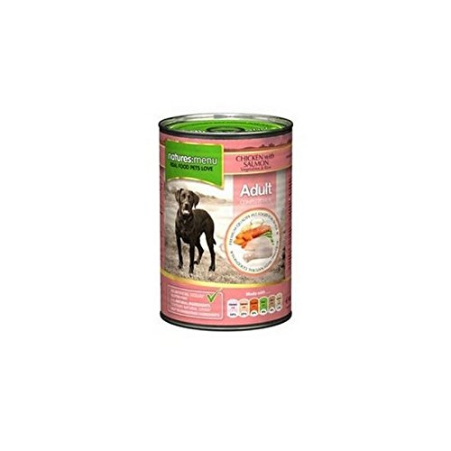 Nature's Menu Chicken with Salmon, Veg and Rice Dog Tin (400g)