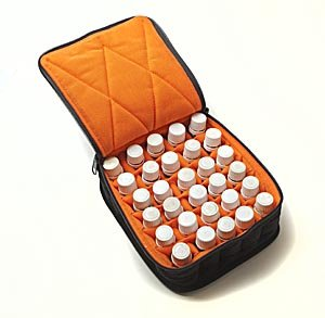 30-bottle-essential-oil-carrying-cases-hold-5ml-10ml-and-15ml-bottles-black-with-dusk-orange-interio