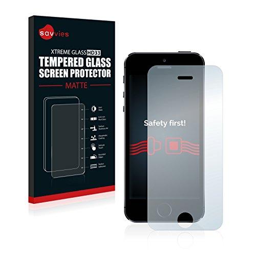savvies-panzerglas-apple-iphone-5-5s-5c-se-glasfolie-matt-schutzfolie-9h-hartglas-entspiegelt