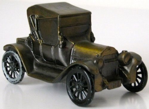 1915 Vintage Chevrolet Alabama National Bank Car Bathrico Inc. Piggy Bank - 1