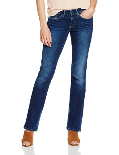 Pepe Jeans Piccadilly, Donna, Blu (Denim 000-z65), W31/L34 (Taglia Produttore: 31)